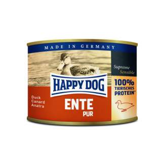 Happy Dog: Ente pur spannmålsfritt, 100% anka