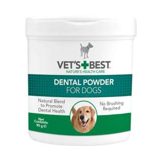 Vet's Best: Dental Power for Dogs, Tandvårdspulver, 90 g