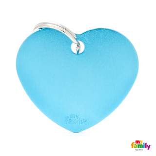 MyFamily Basic - Big heart blue