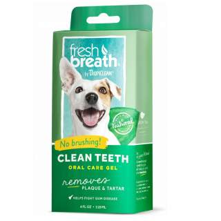 TropiClean: Fresh breath, Clean Teeth, Oral Care Gel, 118 ml