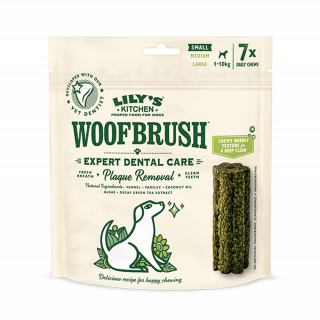 Lily's Kitchen: Woofbrush, Dental Care, Small, 7 x 22g