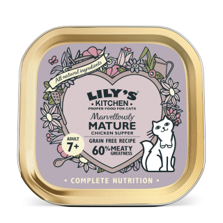 Lily's Kitchen: Marvelously Mature Chicken Supper, 85 g