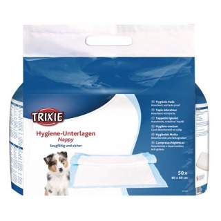 Trixie: Valpmatta Houstrainer, 60 × 60 cm, 50-pack