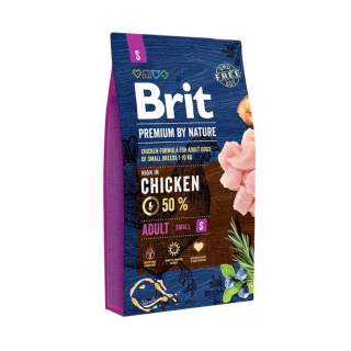 Brit: Premium by Nature Adult Small 0,1kg