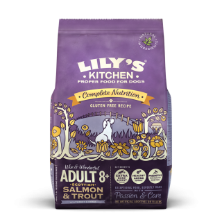 Lily's Kitchen: Adult 8+, Lax & forell, 2,5 kg