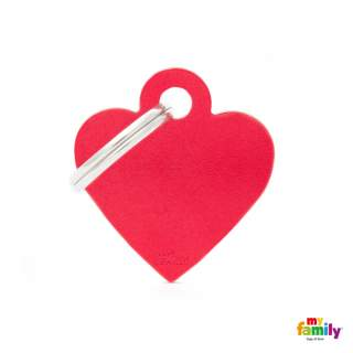 MyFamily Basic - Red heart small