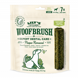 Lily's Kitchen: Woofbrush, Dental Care, Large, 7 x 47 g