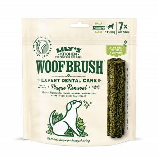 Lily's Kitchen: Woofbrush, Dental Care, Medium, 7 x 28 g