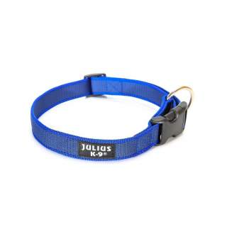 Julius-K9: Halsband, 25 mm, blå