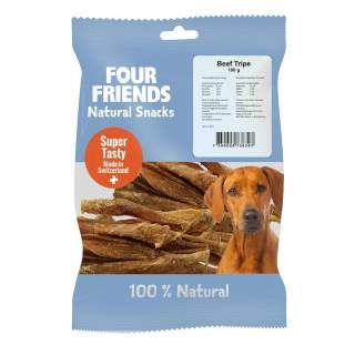 Four Friends: Natural Snacks Beef Tripe 100g