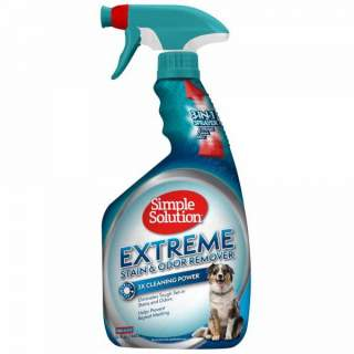 Simple Solution: Extreme Stain & Odor Remover, 1 liter